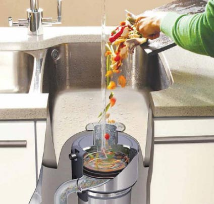 Утилизаторы пищевых отходов